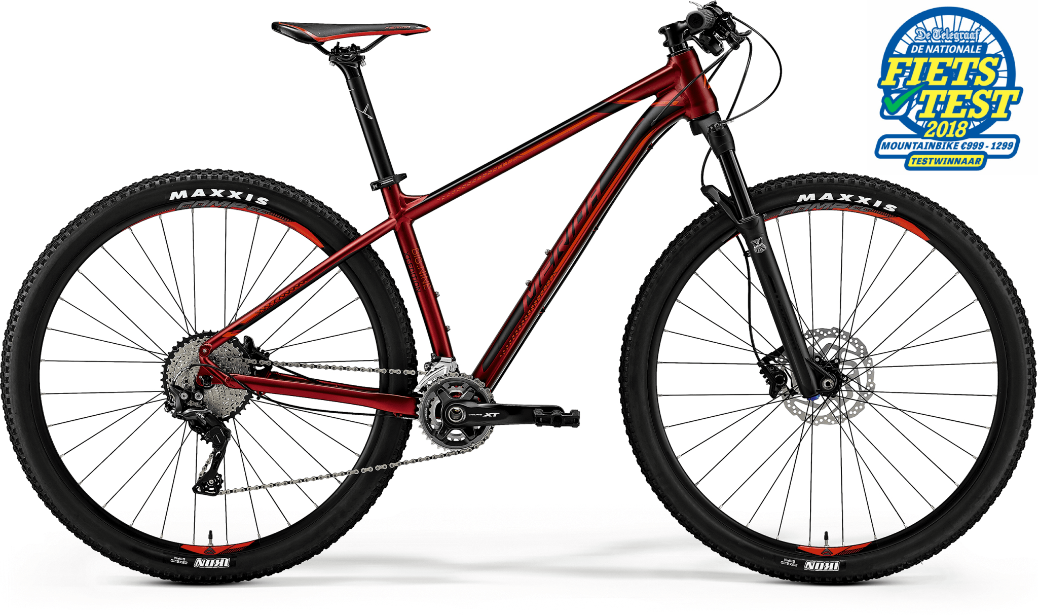 merida big nine xt-edition red